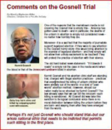 Comments on the Gosnell Trial
